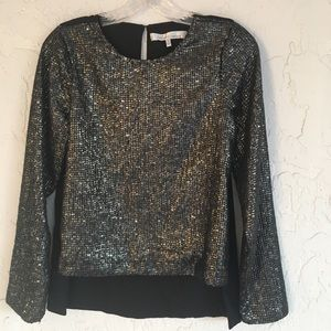 LOVERS and FRIENDS Long Sleeve Blouse Size Small